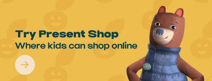 Present Shop: Shopping experience for kids